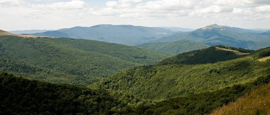 Bieszczady - park narodowy i jednocześnie obszar Natura 2000.